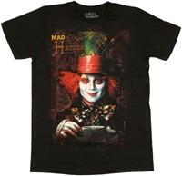Alice in Wonderland Johnny Depp Mad as a Hatter