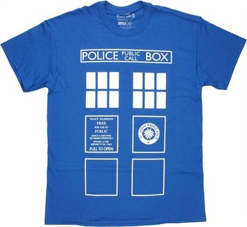 Doctor Who TARDIS Costume Front