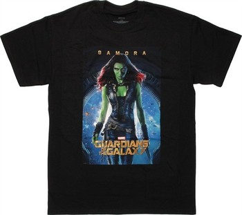 Marvel Comics Guardians of the Galaxy Gamora Poster