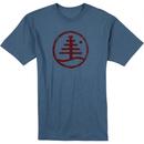 Burton Woodblock Family Tree Recycled T-Shirt
