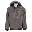 Sessions Woven Softshell Hoodie Java Brown