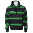Sessions Stripe Softshell Hoodie Krypto Green Stripe