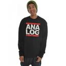 Analog Raising Hell Sweatshirt True Black