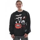 Analog Shindig Basic Crew Sweatshirt True Black