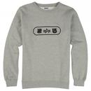 Burton Undefeated X Alpha Industries Tri Logo Crew Sweatshirts