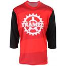 Framed Cog 3/4 Sleeve Bike Jersey