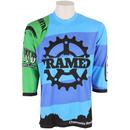 Framed Team 3/4 Bike Jersey Multi