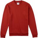 Analog Quick Strike Sweatshirt Red Ochre