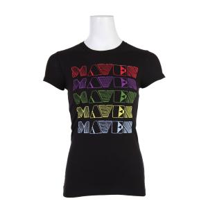 Liquid Force Rainbow Maven T-Shirt Black