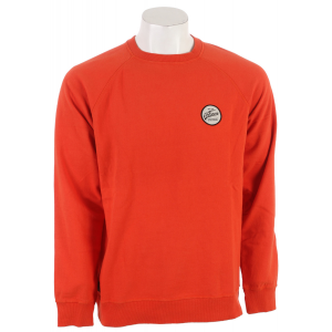 Volcom Programmer Crew Sweatshirt Orange