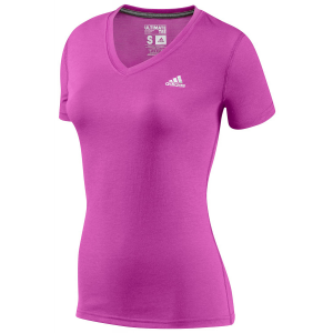 Adidas Ultimate Short Sleeve V-Neck T-Shirt