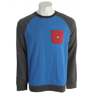 Volcom Stone Crew Sweatshirt Blue