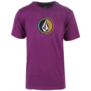 Volcom Circle Stone T-Shirt Vibrant Purple