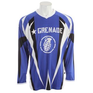 Grenade No Match BMX Jersey Blue