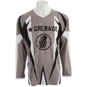 Grenade No Match BMX Jersey Gray