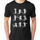 Ministry of Alien Silly Walks (White Version) Unisex T-Shirt
