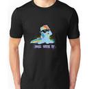 My Little Pony - MLP - Raindow Dash - Deal With It Unisex T-Shirt