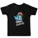 My Little Pony - MLP - Rainbow Dash - Deal With It Kids Clothes