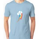 Rainbow Dash Cutie Mark (small icon) - My Little Pony Friendship is Magic Unisex T-Shirt