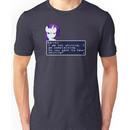 My Little Pony Rarity Quote Shirt Unisex T-Shirt