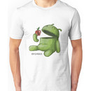 Android Eating Apple Unisex T-Shirt