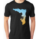 Mountain Climbing Silhouette Design Unisex T-Shirt