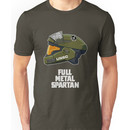 Full Metal Spartan (dark) Unisex T-Shirt