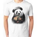 PANDA LOVES PIZZA Unisex T-Shirt
