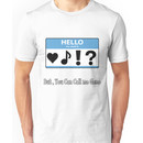 Geno fan shirt Unisex T-Shirt