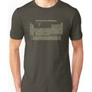 The Periodic Table of the Elements - Hand Drawn Unisex T-Shirt