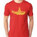 Grunge Yellow Submarine Unisex T-Shirt