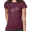 River Song- Bye! (light outline) Women's T-Shirt