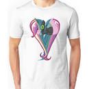 Queen Chrysalis/Princess Cadance Heart Unisex T-Shirt