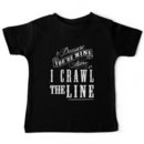 I Crawl The Line, Baby Onesie Kids Clothes