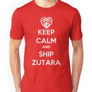 Keep Calm and Ship Zutara! Unisex T-Shirt