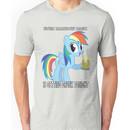 My Little Pony - Drinking With Rainbow Dash Unisex T-Shirt