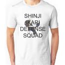Protect Shinji Ikari - Black Text Unisex T-Shirt