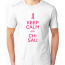 Keep Calm and Chi Sau (Wing Chun) Unisex T-Shirt