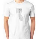 eraserhead baby - black and white Unisex T-Shirt