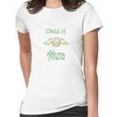 Child of Goddess Athena Greek Demigod Wisdom Women's T-Shirt
