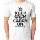 Keep Calm - SPN Style Unisex T-Shirt