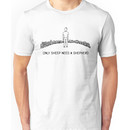 Only Sheep Need a Shepherd - Black Unisex T-Shirt