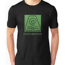 Earthbender (with text) Unisex T-Shirt