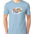 Rainbow Dash in a box Unisex T-Shirt
