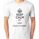 Keep Calm and Love Stiles Stilinski Unisex T-Shirt