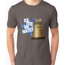 Doctor Who - EX-TER-MIN-ATE! Unisex T-Shirt