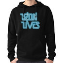 TRON LIVES Uprising version Hoodie (Pullover)