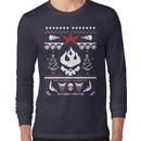An Ugly Gurren Lagann Christmas Sweater  Long Sleeve