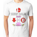 Kirby Stone : Smash Bros SSB4 Unisex T-Shirt