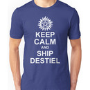 Keep Calm and Ship Destiel Shirt Unisex T-Shirt
